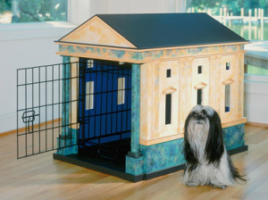 Palladian doghouse